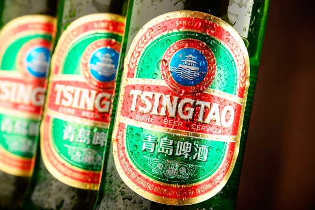Qingdao is home of Tsintao brewery, the second largest in China.